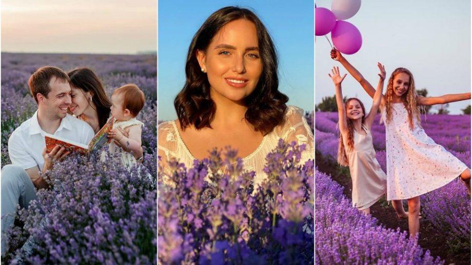 (foto) Explozie de mov. Internauții din Moldova colorează rețelele sociale cu fotografii din lanurile de levănțică