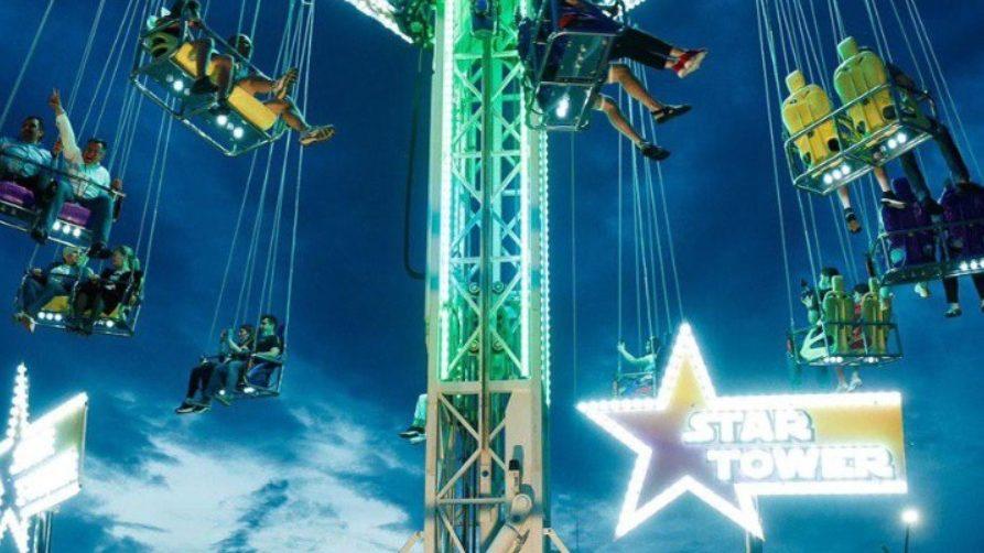 """Caruselul """"Star Tower"""" este noua surpriză din acest an de la OrheiLand. Acesta a fost cumpărat de către Partidul """"ȘOR"""""""