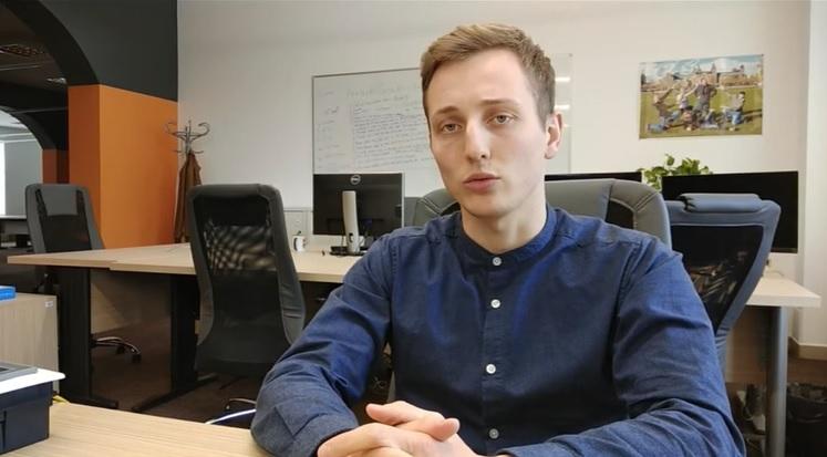 """(video) Alexandru Halmagea, inginer PLC în cadrul companiei InterSoft Developments: """"Ingineria îți oferă un viitor prosper"""""""