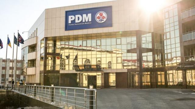 În urma perchezițiilor de la sediul PDM, a fost reținut șeful departamentului IT al partidului