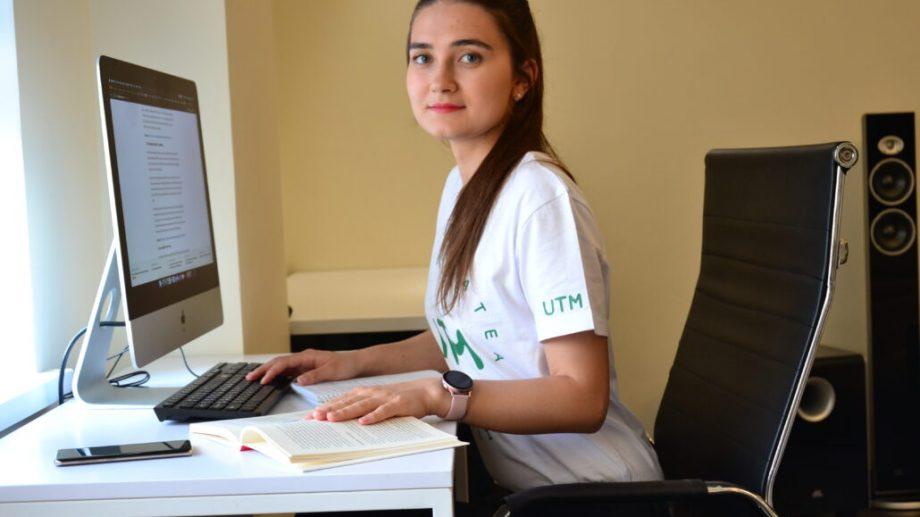 Sandra Prunici povestește despre studiile economice la Universitatea Tehnică a Moldovei
