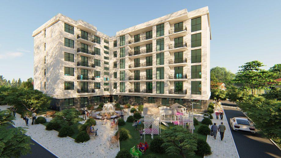 Într-un sat din nordul Moldovei va fi construit un bloc rezidențial modern. Vezi cum va arăta acesta