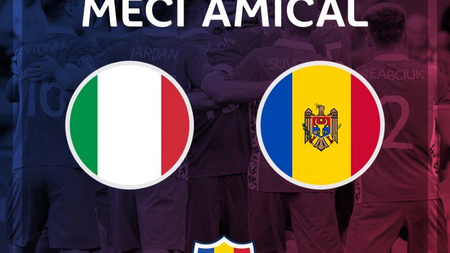 "Naționala Moldovei va juca un meci amical cu Italia. Partida va avea loc pe stadionul ""Ennio Tardini"" din Parma"