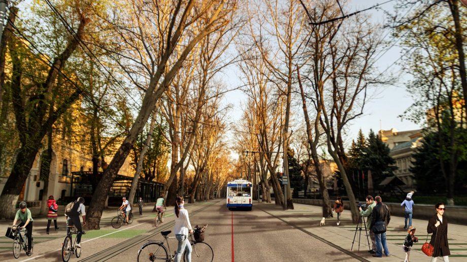 """(doc) Strada 31 august din centrul Capitalei ar putea fi transformată într-un """"Coridor Verde"""". Ce presupune această schimbare"""