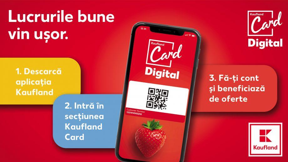 Kaufland Moldova lansează primul card de loialitate în format digital