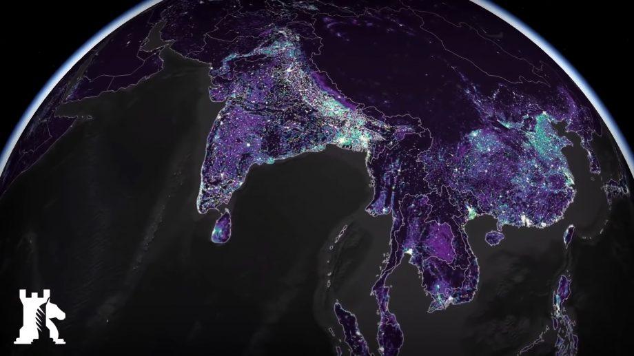 (hărți) Cum arată activitatea umană prin hărți interactive