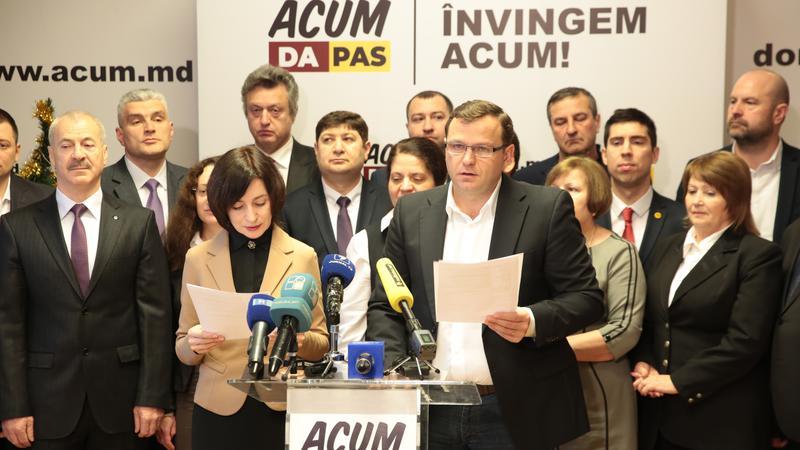 Platforma DA va accepta doar semnăturile deputaților PAS pentru înaintarea moțiunii de cenzură împotriva guvernului