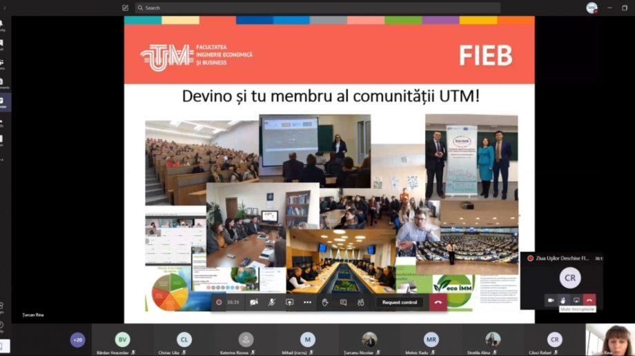 Cum s-a desfășurat Ziua Ușilor Deschise la Facultatea de Inginerie Economică și Business de la UTM