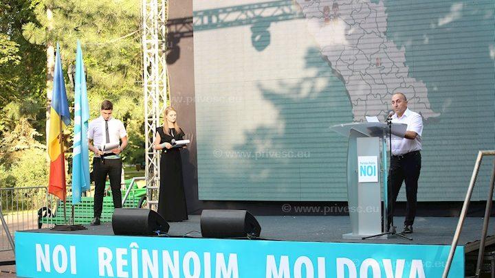 """(video) În Moldova s-a lansat un nou partid politic – NOI. Inițiatorii își doresc să """"trezească și să unească"""" poporul"""