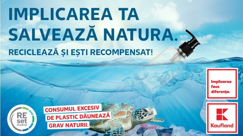 Kaufland Moldova anunță un nou sistem de reciclare pentru produsele de îngrijire personală. Clienții sunt recompensați cu 50 % reducere