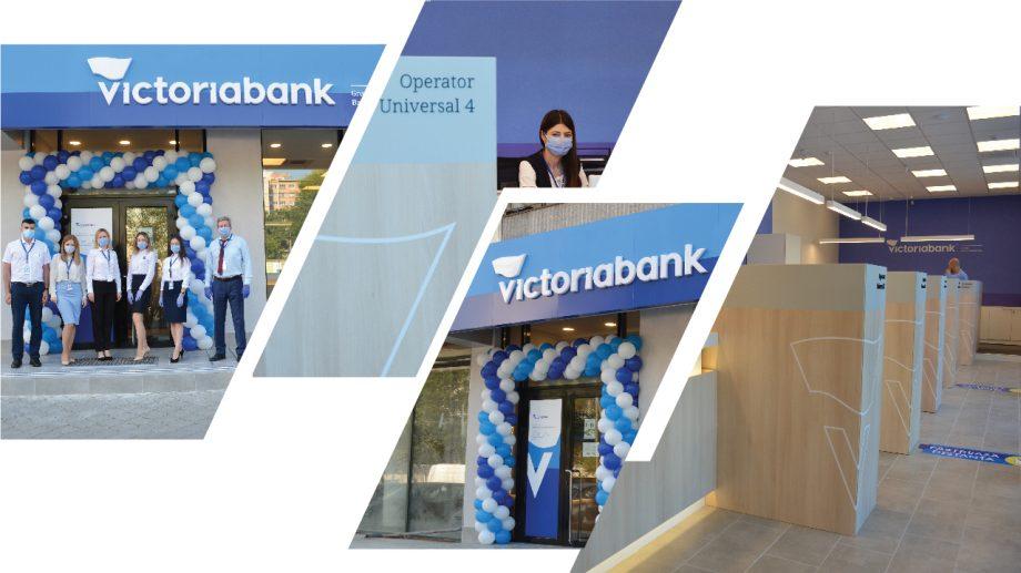 Încă o unitate modernizată Victoriabank și-a redeschis ușile