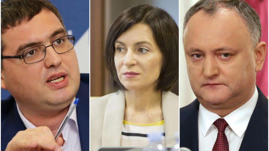Top 4 politicieni din Moldova care se bucură de cea mai mare încredere