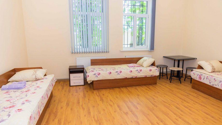 (foto) A fost amenajat un spațiu pentru persoanele cu forme ușoare de COVID-19. Acesta este destinat angajaților MAI
