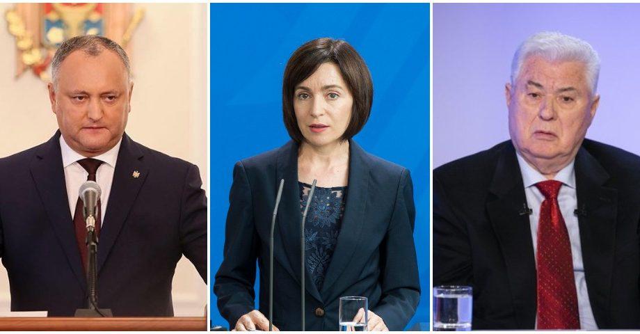 (sondaj IMAS) Top cinci politicieni din Moldova care se bucură de cea mai mare încredere în rândul populației