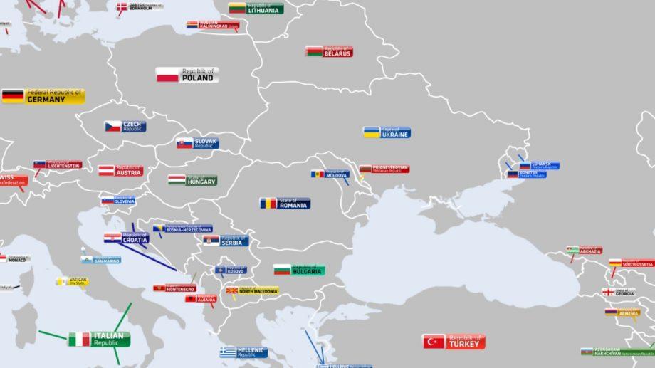 (hartă) Harta apolitică a lumii. Cum arată statele și teritoriile acestora în realitate