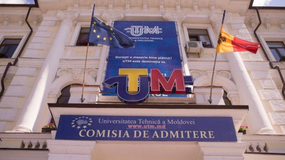 """A fost dat startul înscrierilor prealabile la UTM. Cum poți depune documentele în cadrul """"Admiterea UTM"""""""