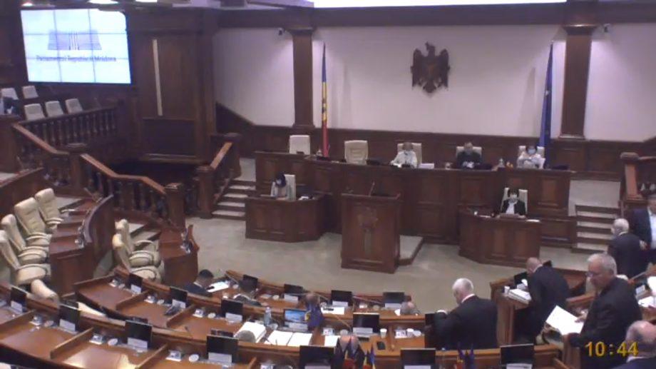 (video) Ședința parlamentului a fost amânată din cauza lipsei de cvorum