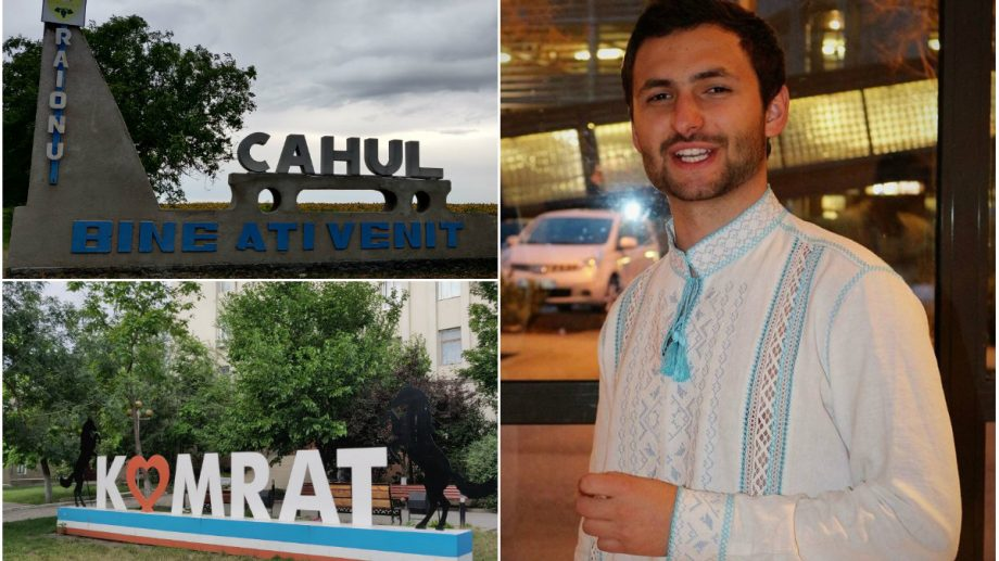 (foto) Un tânăr din Chișinău și-a propus să viziteze fiecare raion al Moldovei în această vară. Care sunt concluziile sale din sudul țării