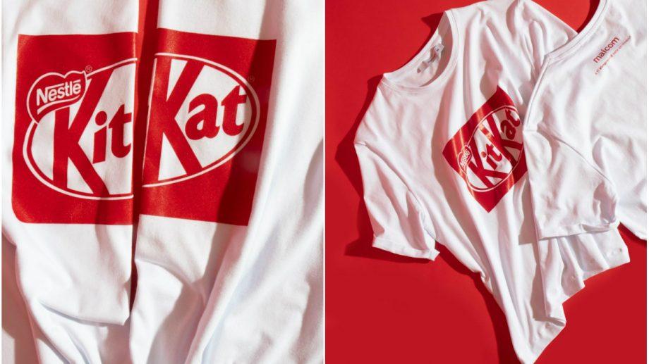 Stai pe chill #împreună: Maicom a lansat o linie de tricouri în colaborare cu KIT KAT ™