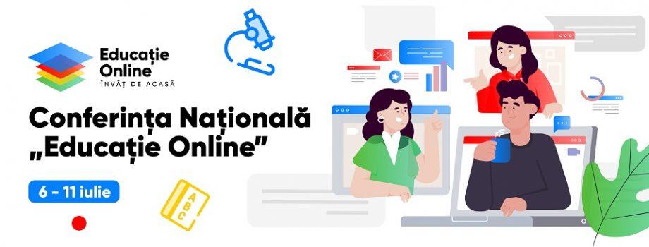 Inițiatorii proiectului Educație Online invită profesorii la Conferința Națională pentru instruirea în mediul online