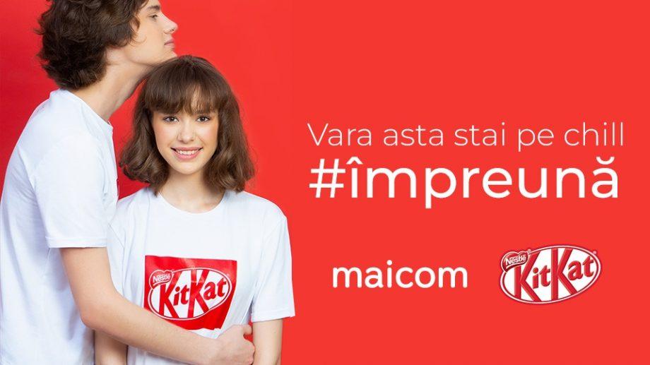 Stai pe chill #împreună: Maicom a lansat o linie de tricouri în colaborare cu KitKat™