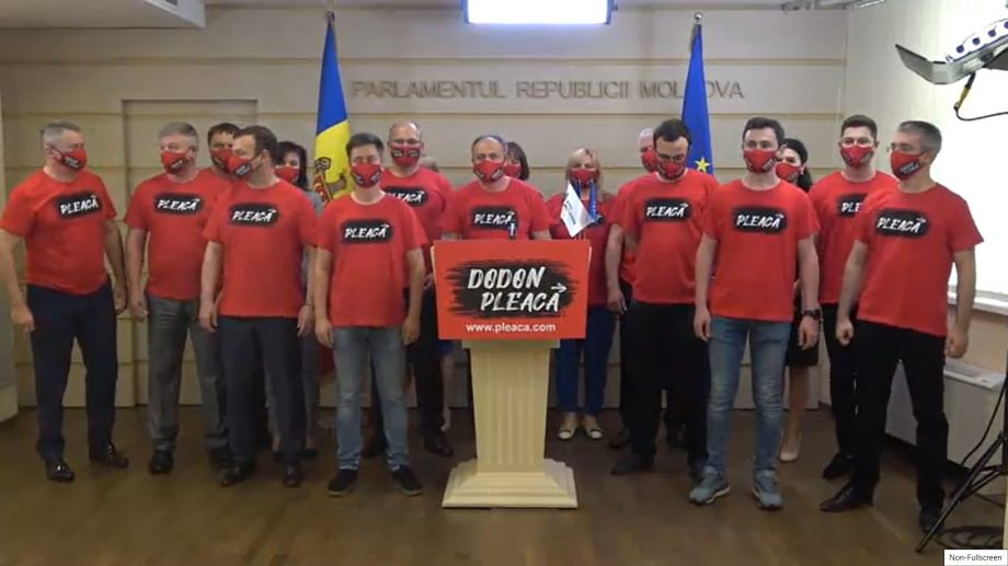 PRO MOLDOVA lansează campania națională de colectare a semnăturilor pentru demiterea lui Igor Dodon