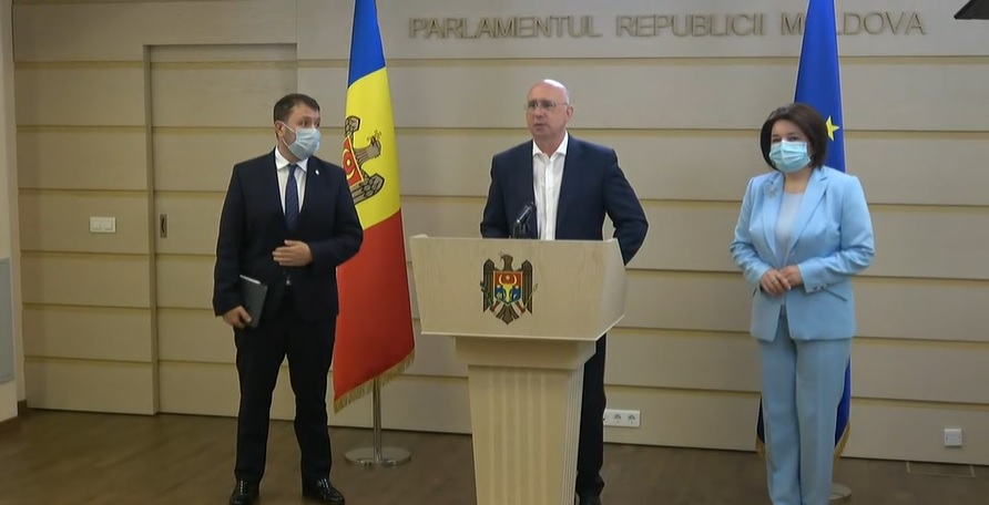 """(video) Pavel Filip: """"PRO MOLDOVA și Partidul «ȘOR» vor să facă haos, pentru că în situații de criză pot să-și rezolve problemele"""""""