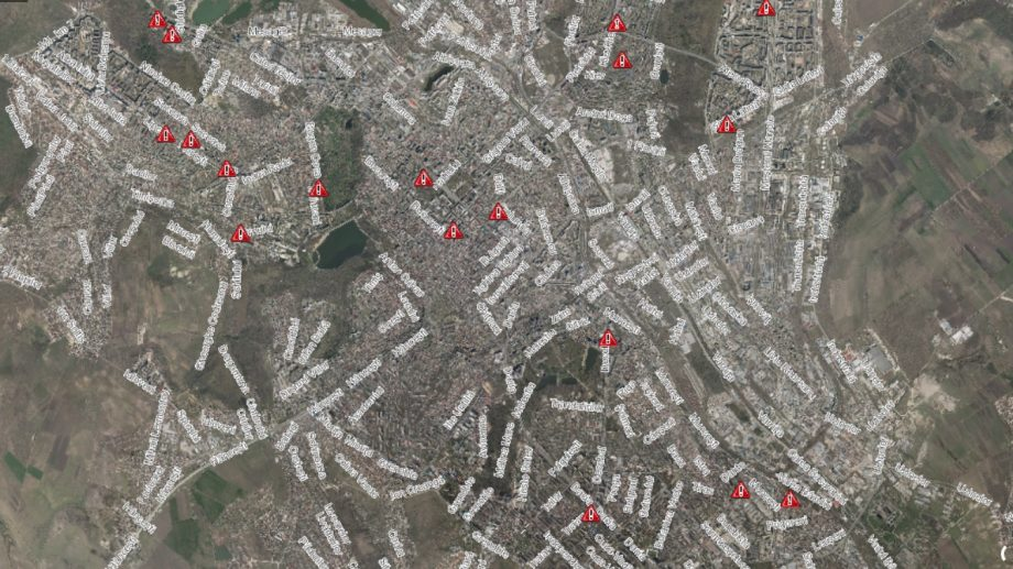 (hartă) Primăria a lansat o hartă interactivă a construcțiilor problematice din oraș