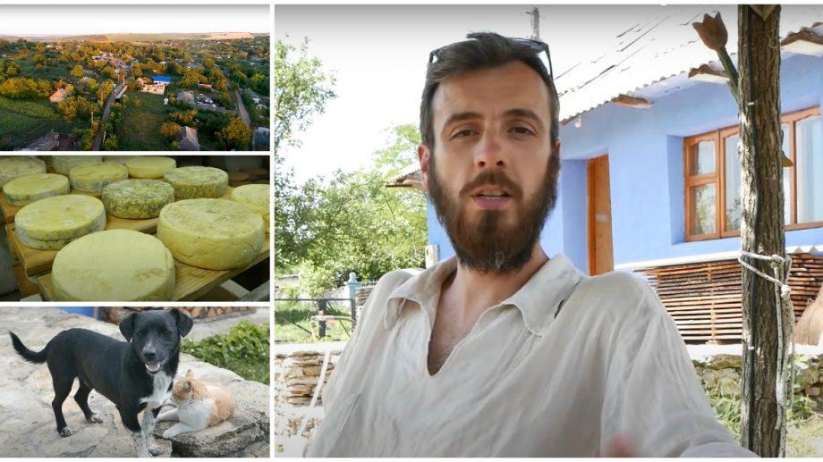 """(video) Istoria francezului care și-a găsit fericirea într-un sat din Moldova. """"Aici am găsit libertatea și adevăratele bogății"""""""