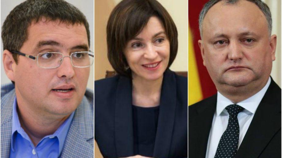 (sondaj BOP) Topul încrederii în personalitățile politice. Moldovenii au enumerat politicienii cu cea mai mare autoritate