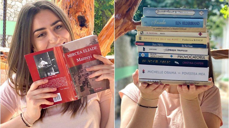 """(foto) """"Nu îmi va ajunge o viață să le savurez pe toate."""" Descoperă povestea de lecturi a unei tinere din Moldova"""
