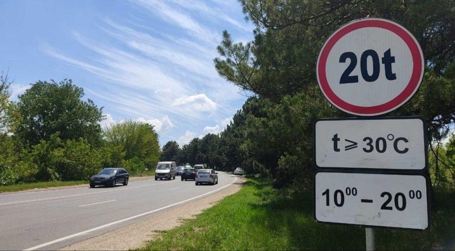 Mașinile de mare tonaj nu au dreptul să circule pe străzile din Chișinău în zilele cu temperaturi caniculare