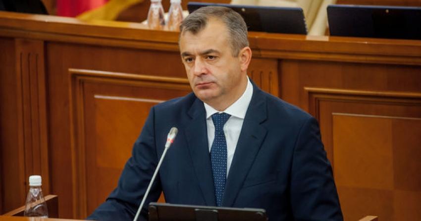 Ion Chicu a prezentat asumarea de răspundere a guvernului pentru modificarea bugetului de stat și pentru majorarea salariilor medicilor
