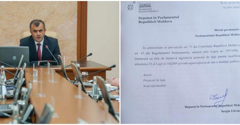 PAS a înregistrat un proiect de lege care prevede schimbarea președintelui Comisiei Naționale Extraordinare de Sănătate Publică