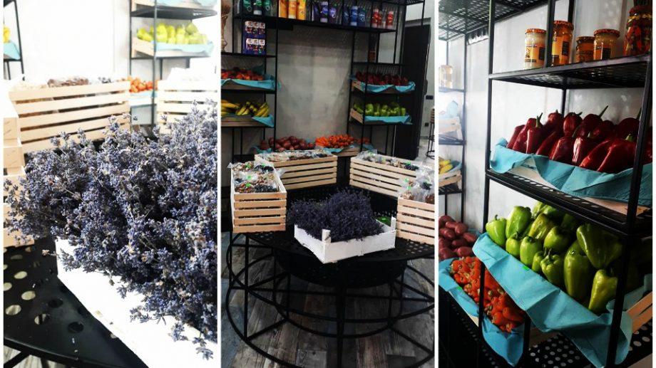 (foto) În Chișinău a fost deschis un magazin cu fructe și legume bio. Banii din vânzări sunt donați persoanelorcu maladii incurabile