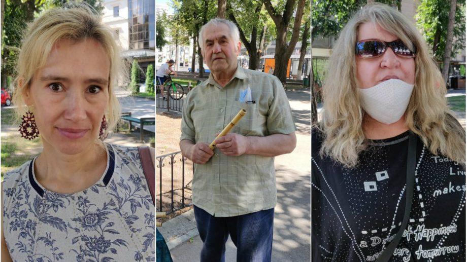 """""""Piața cu suvenire"""" din scuarul Teatrului Național """"Mihai Eminescu"""" nu mai există. Ce spun meșterii populari care vindeau acolo"""