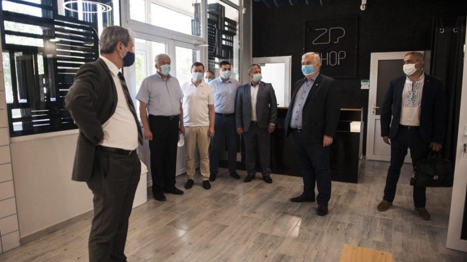Ministrul educației a remarcat renovările din campusul academic Râșcani al UTM, cât și dotarea instituției cu laboratoare moderne