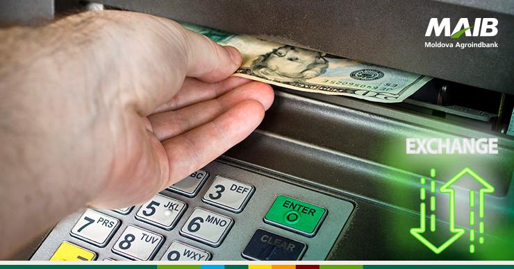 Ce faci când se termină banii? Corect, mergi la bancomat şi schimbi dolarii
