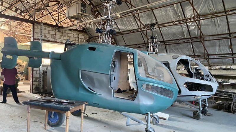 (foto) Detalii noi în cazul fabricării elicopterelor din Criuleni