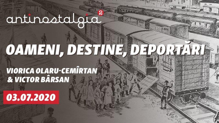 """""""Oameni, destine, deportări"""" – o dezbatere din seria """"AntiNostalgia"""", despre un trecut care e încă prezent"""
