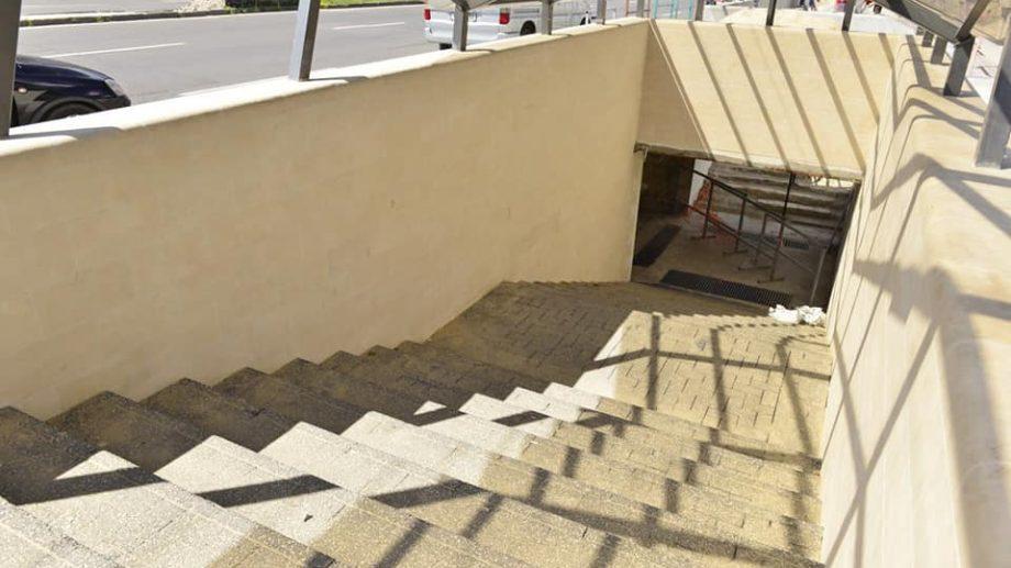 (foto) La ce etapă sunt lucrările de reparație a subteranelor din preajma centrelor comerciale Soiuz și MallDova
