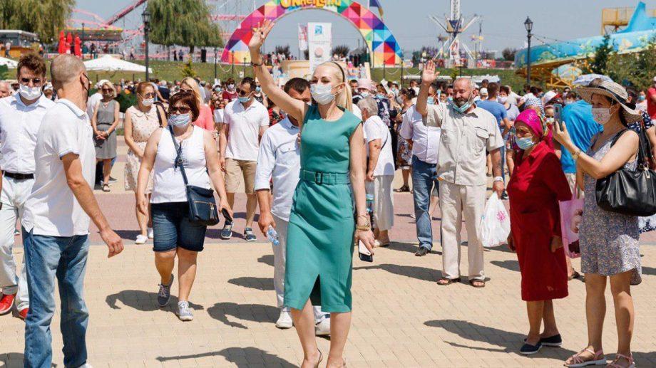 (video) Protest la OrheiLand. Mii locuitori cer cu fermitate redeschiderea parcului