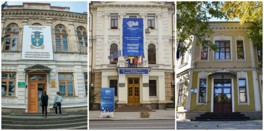 UTM și USM, în fruntea clasamentului. Topul celor mai bune universități din Moldova, ediția de vară 2020