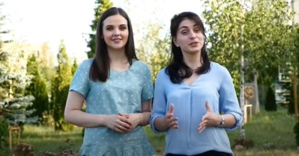 """Mihaela Botnaru și Marina Sahaidac îndeamnă absolvenții să studieze """"Tehnologia Informației"""" la UTM"""