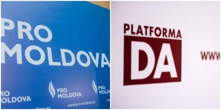 """Deputați PRO MOLDOVA și PPDA au avut o rundă de consultări: """"Părțile au abordat necesitatea învestirii unui guvern anticriză"""""""