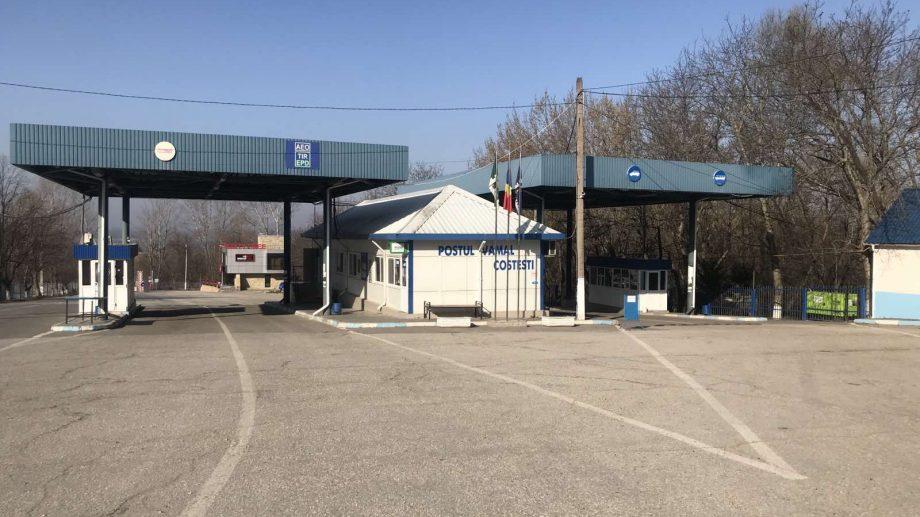 Punctul de trecere a frontierei Costești-Stânca își reia activitatea. Numărul punctelor deschise traficului se ridică la 24