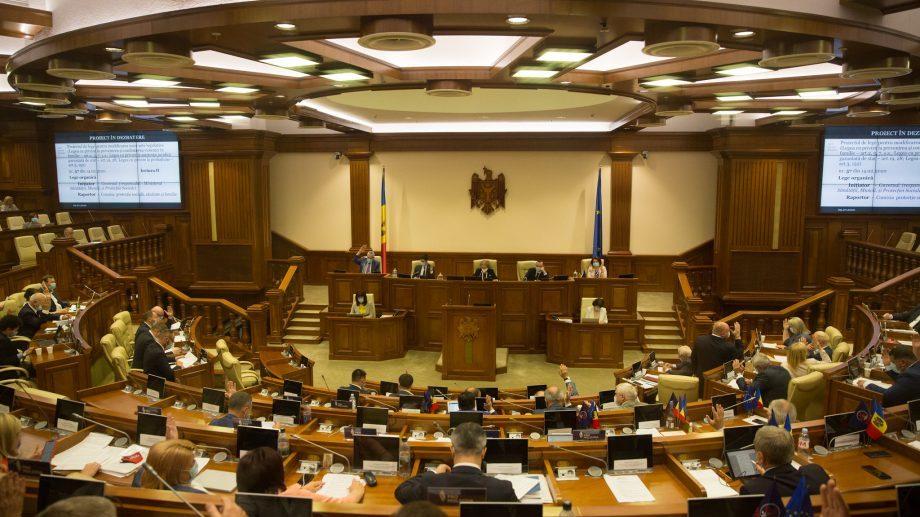 Fracțiunile DA și PAS au înaintat cele mai multe inițiative legislative în ultima sesiune a parlamentului