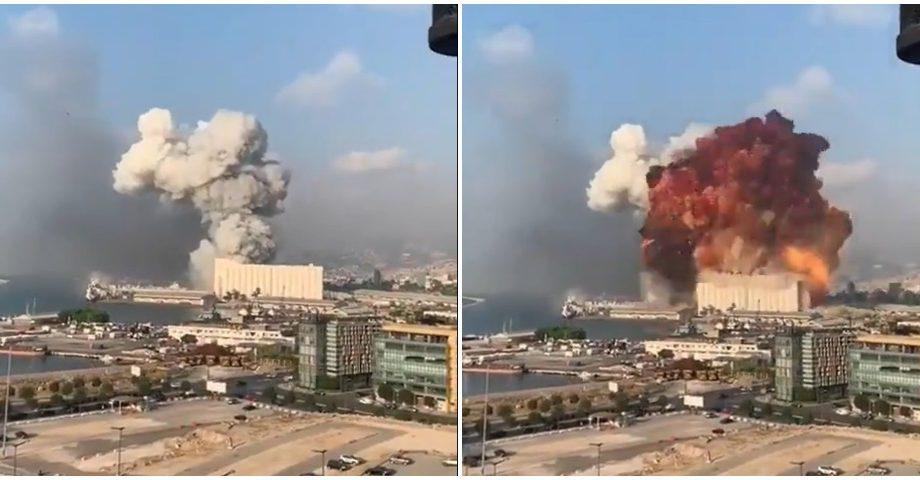 (video) Explozii la Beirut. Oficialii libanezi anunță decesul a 10 persoane și rănirea câtorva sute