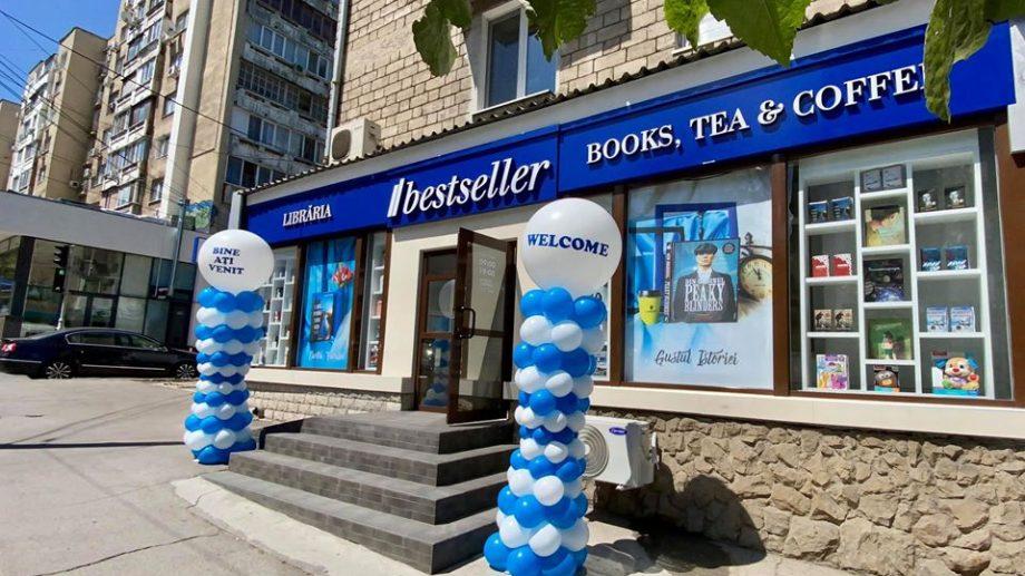 (foto) În centrul orașului se deschide o nouă librărie Bestseller. Poți cumpăra cărți cu reducere de până la jumătate de preț