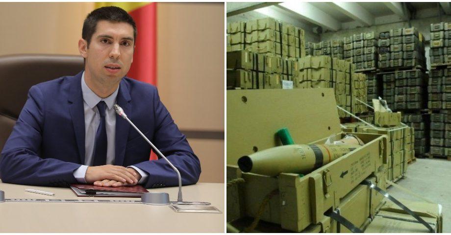 """Mihai Popșoi: """"Depozitul de armament de la Colbasna, unde sunt păstrate 22 000 de tone de material explozibil, este un pericol pentru Moldova"""""""